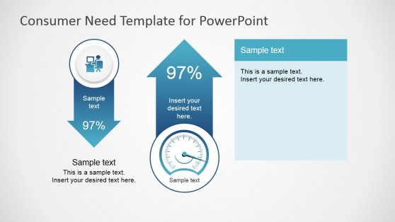 Infographic Elements in PowerPoint for Customer Needs