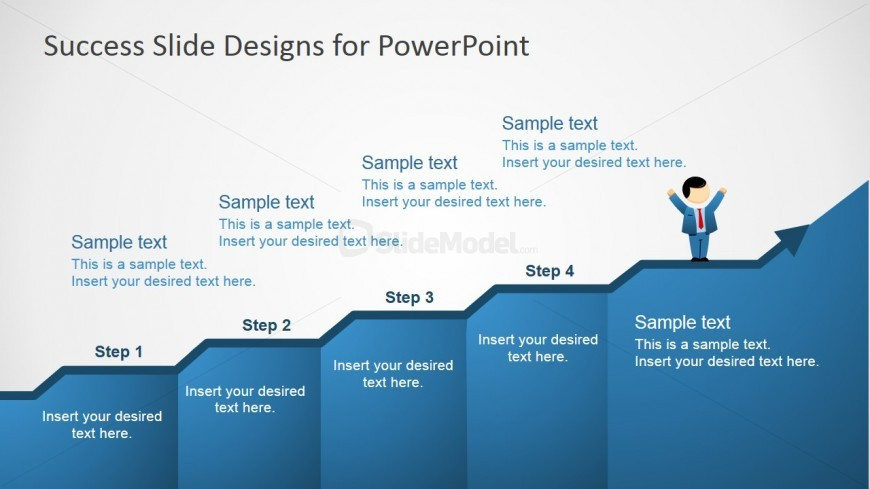 PowerPoint Shapes and Clipart for Success Metaphor