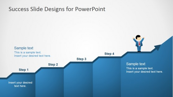 4 Steps Chart for PowerPoint