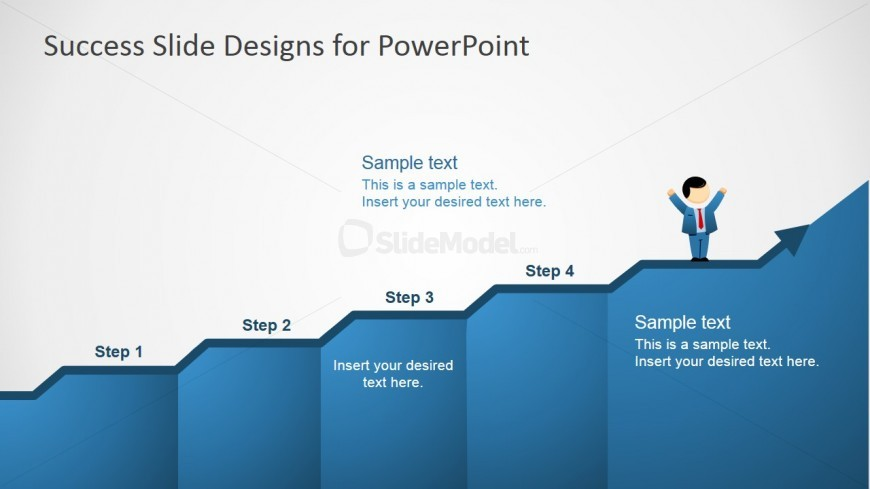 PowerPoint Increasing Value Chart with Mike