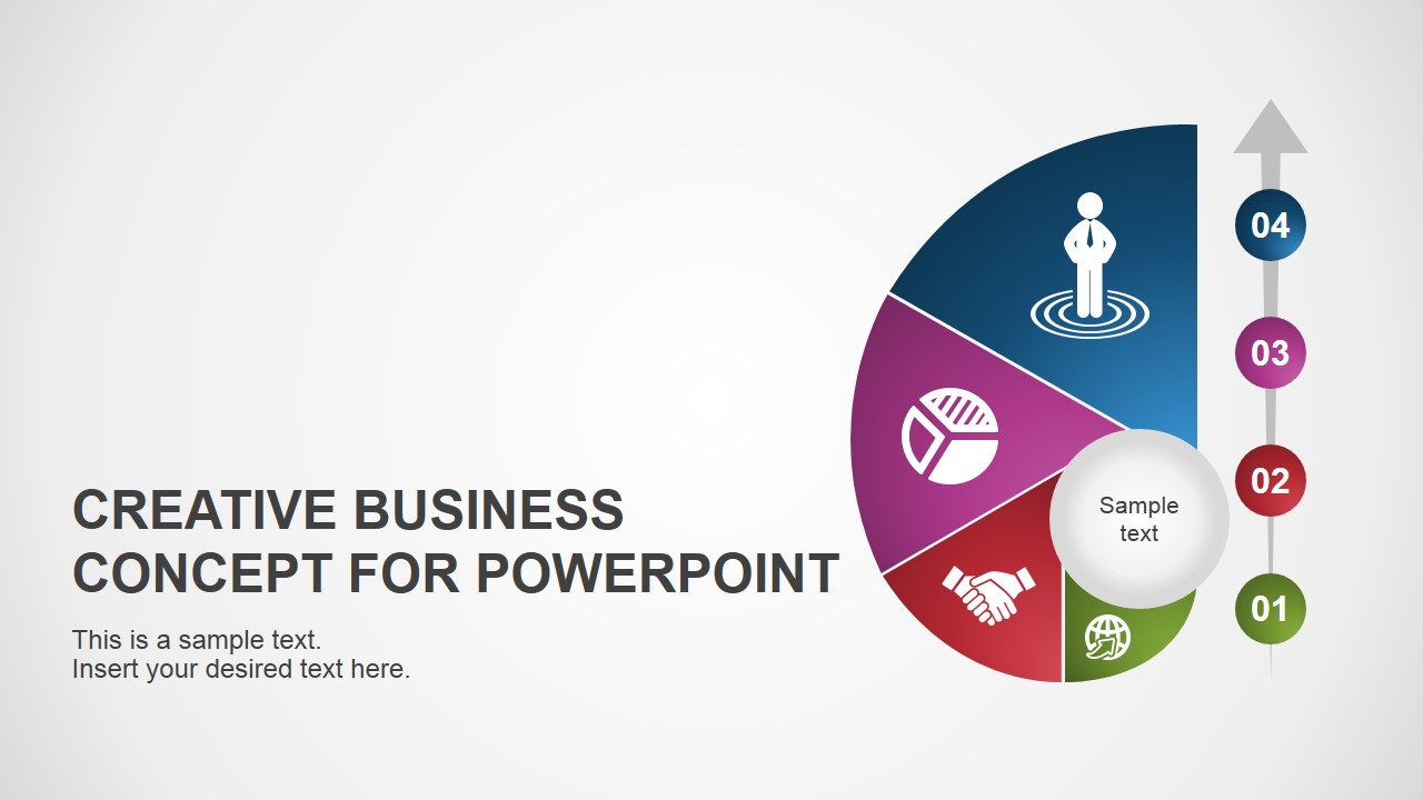 creative business concept for powerpoint