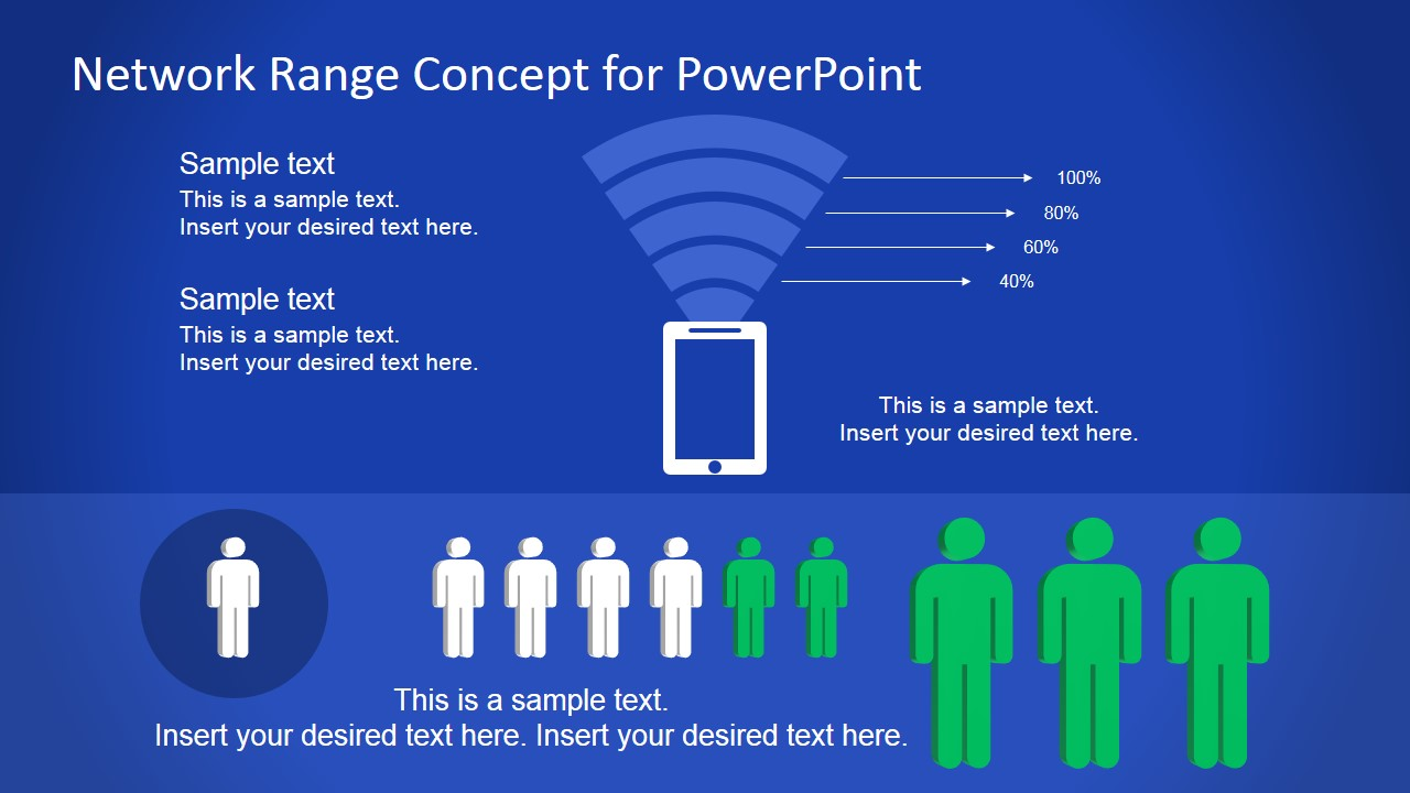 communications network powerpoint templates, Modern powerpoint