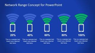 PowerPoint Network Range Icons