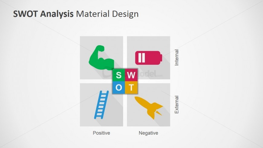 SWOT Matrix Design for PowerPoint