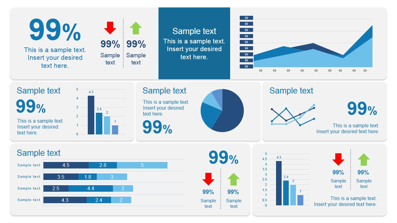 scorecard dashboard powerpoint template slidemodel