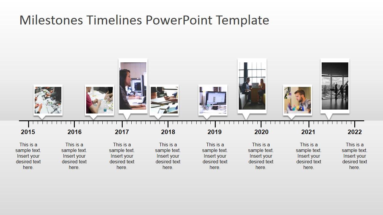 Milestone Template Powerpoint