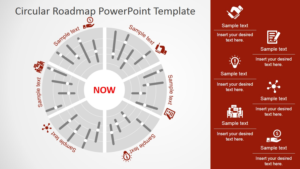 Roadmap PowerPoint Templates – Roadmap Template Free