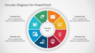 8 Step Colorful PPT Diagram