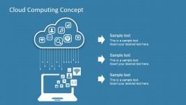 Cloud Computing IT Design Illustration
