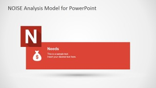 PowerPoint Slide Design for Needs NOISE factor