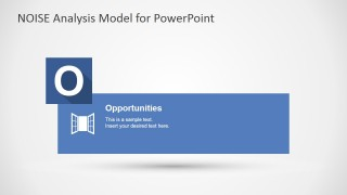 PowerPoint Slide Design for Opportunities NOISE factors
