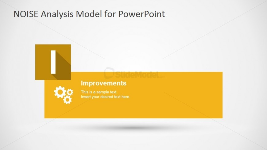 PowerPoint NOISE Diagram Improvements Slide