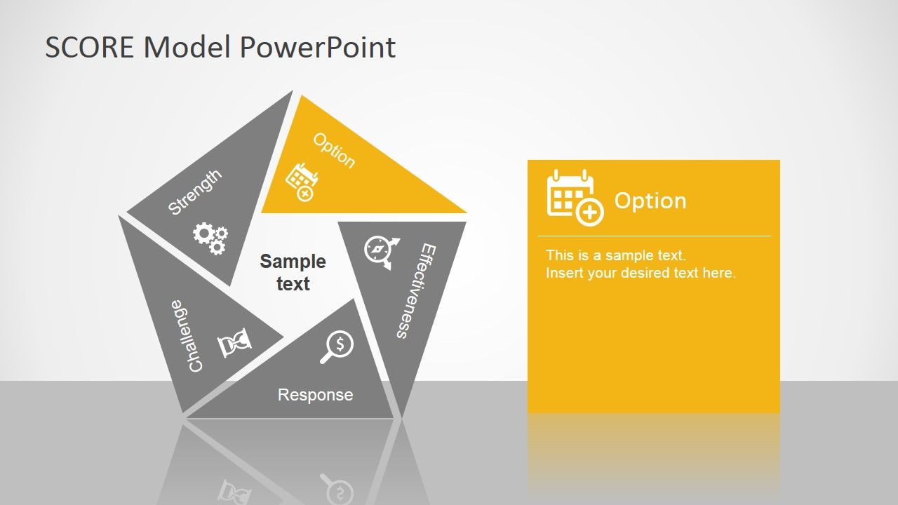 Score Model Powerpoint Template