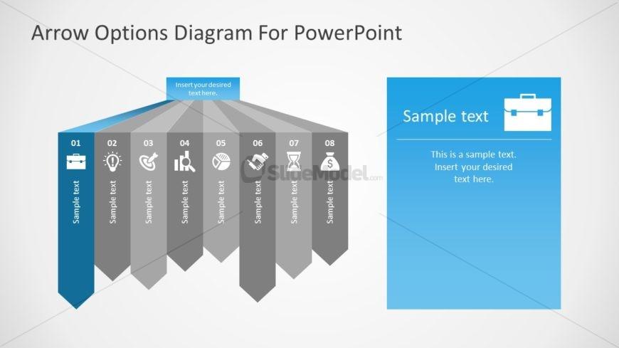 Diagram of Arrow Infographics
