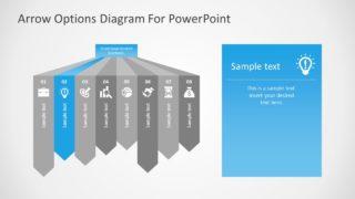 Editable Infographic PowerPoint Diagram