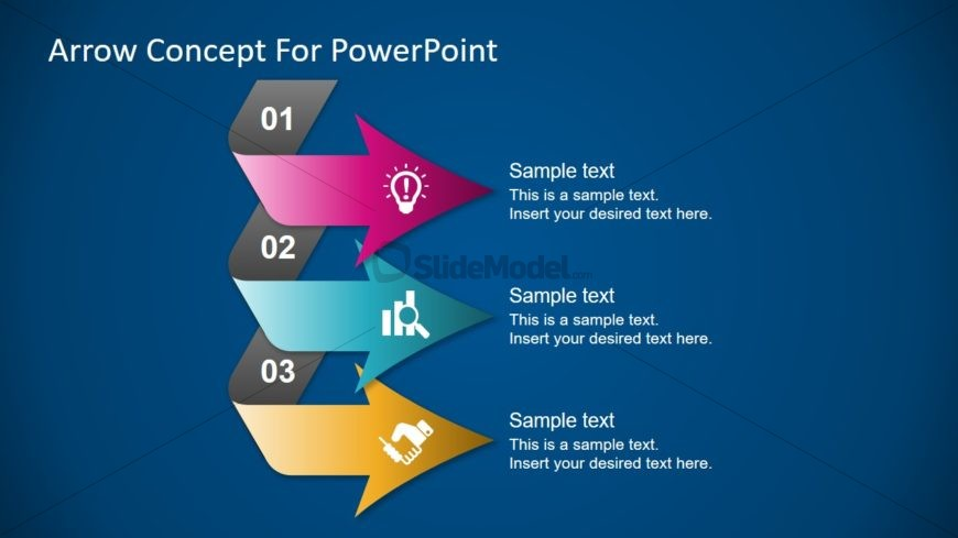 Infographic 3 Steps Diagram Template