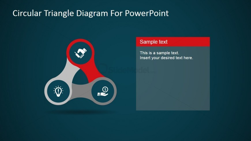 Triangle Diagram PowerPoint Template