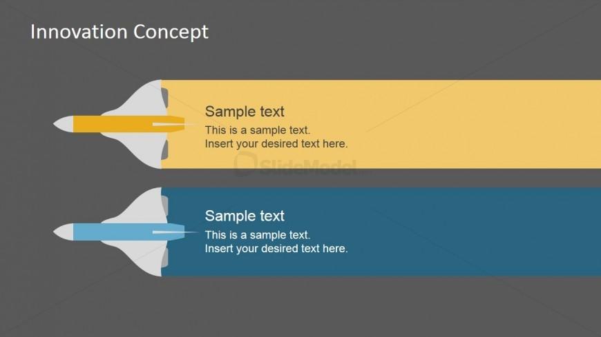 PowerPoint Slide Design Featuring Airplanes