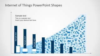 Infographic Chart for Internet of Things PowerPoint Presentations