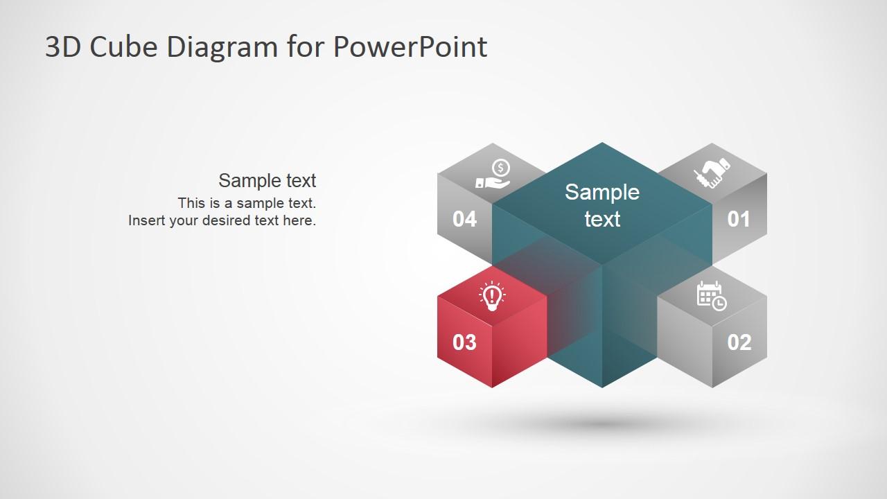 Summary 3d Arrow Progress Diagram Template For Powerpoint Slidemodel Stars
