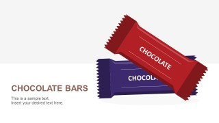 Chocolate Bar Shapes For PowerPoint