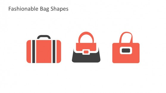 Sleek Bags Vectors And Illustrations For PowerPoint