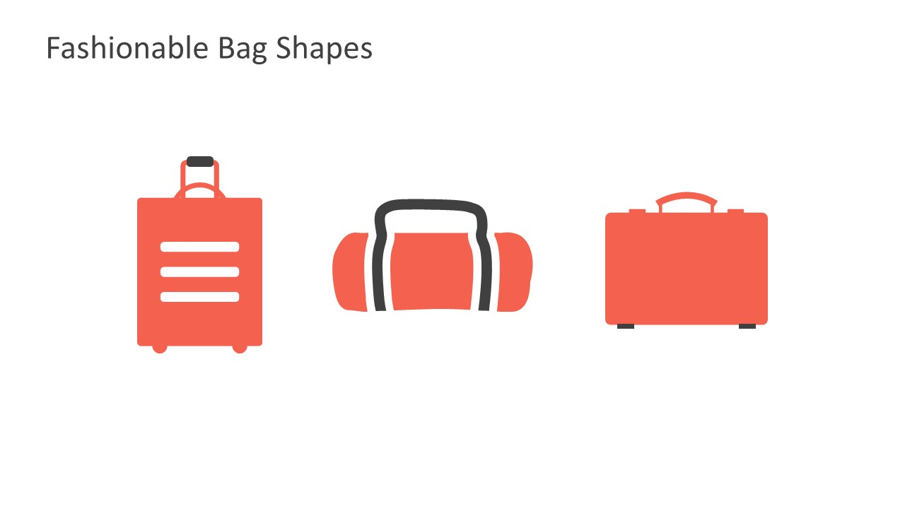 Fashionable Bags Powerpoint Icons