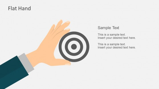 Flat Hand Gestures For PowerPoint