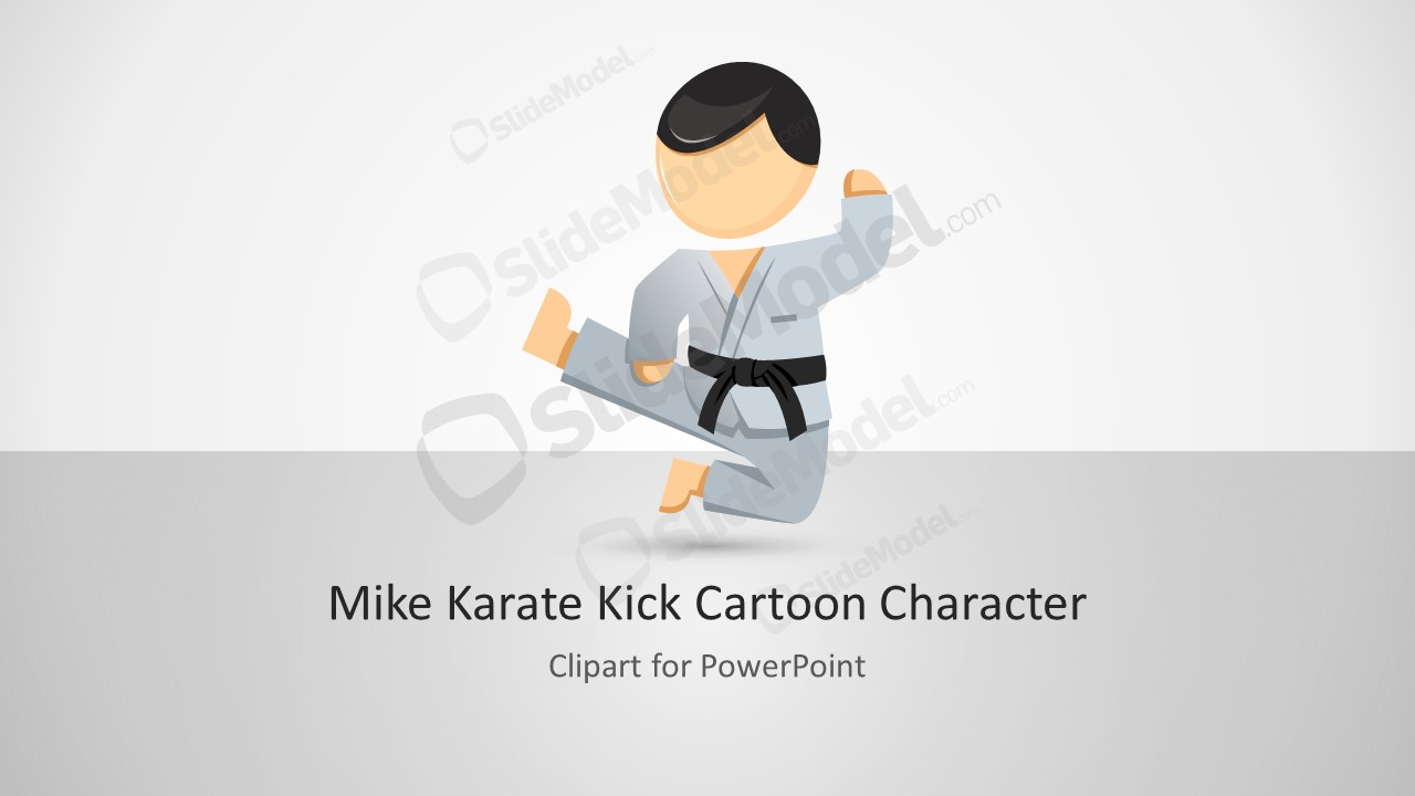 Karate Martial Arts PowerPoint Template