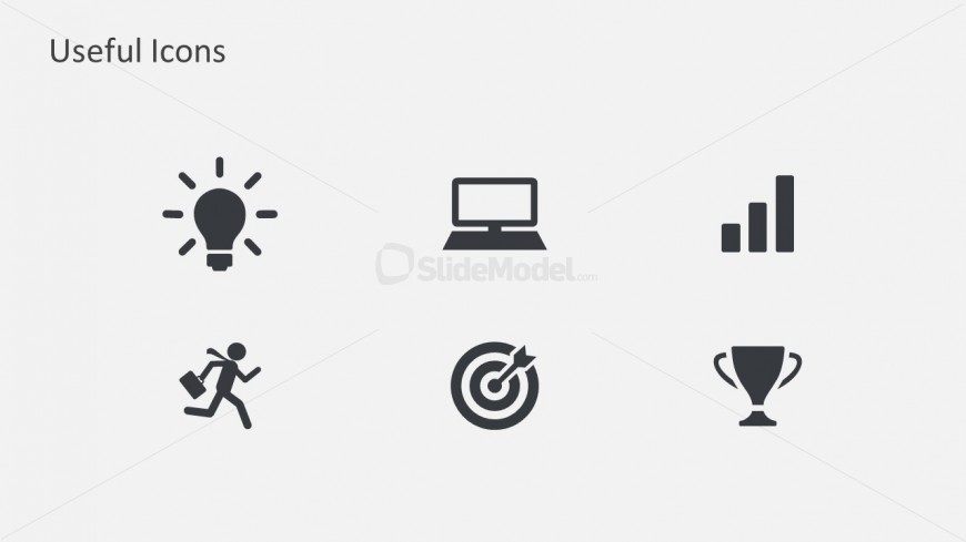 Annual Business Planning PowerPoint Icon Designs