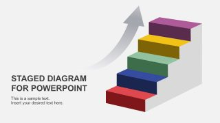 Simple Staged Diagram for PowerPoint