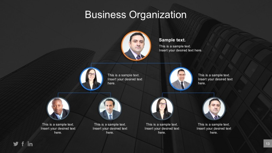 Business Organization PowerPoint Templates