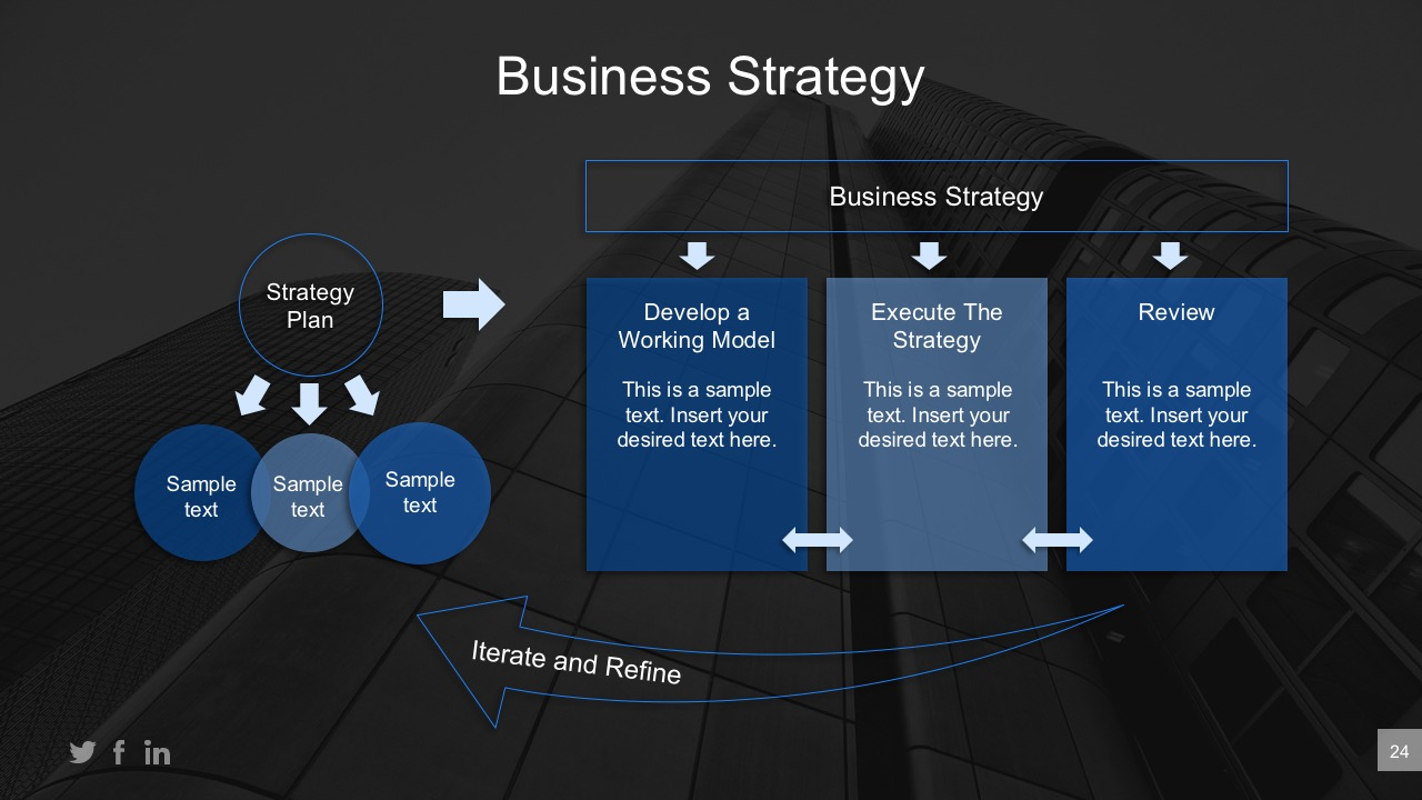 powerpoint templates business strategy choice image