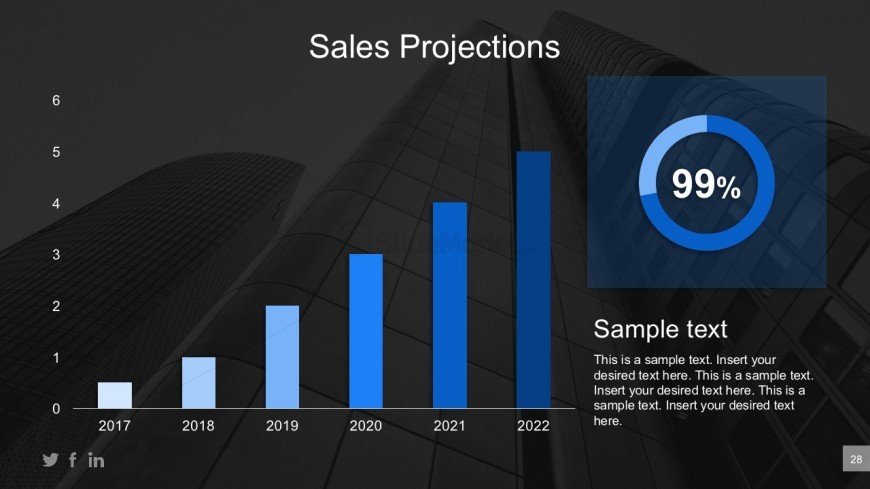 Business sales projections powerpoint diagrams slidemodel editable sales projections bar graph design for powerpoint return to business plan powerpoint templates toneelgroepblik Gallery