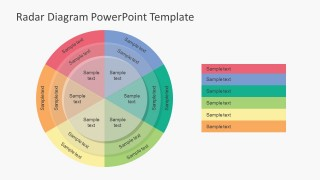 Spider Diagram For PowerPoint