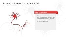 Neural Coupling PowerPoint Template Slide