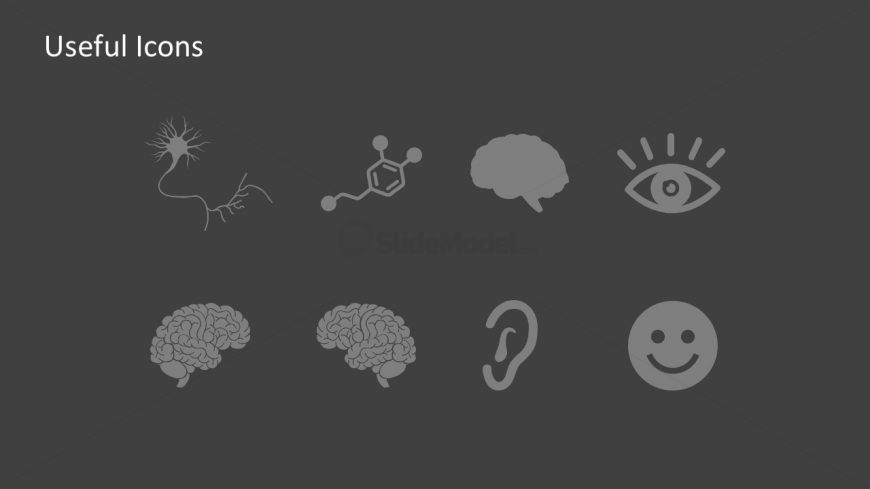 Editable Human Brain Powerpoint Icons Slidemodel