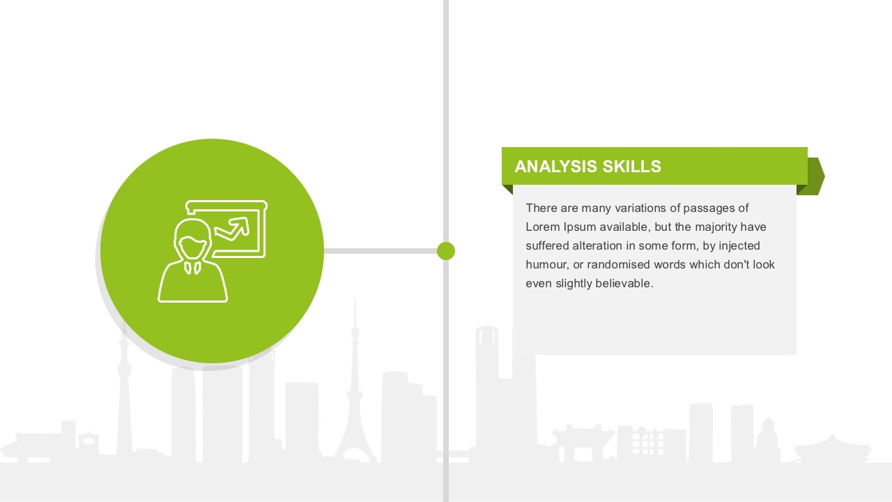 Cool Analytic System PowerPoint Shapes