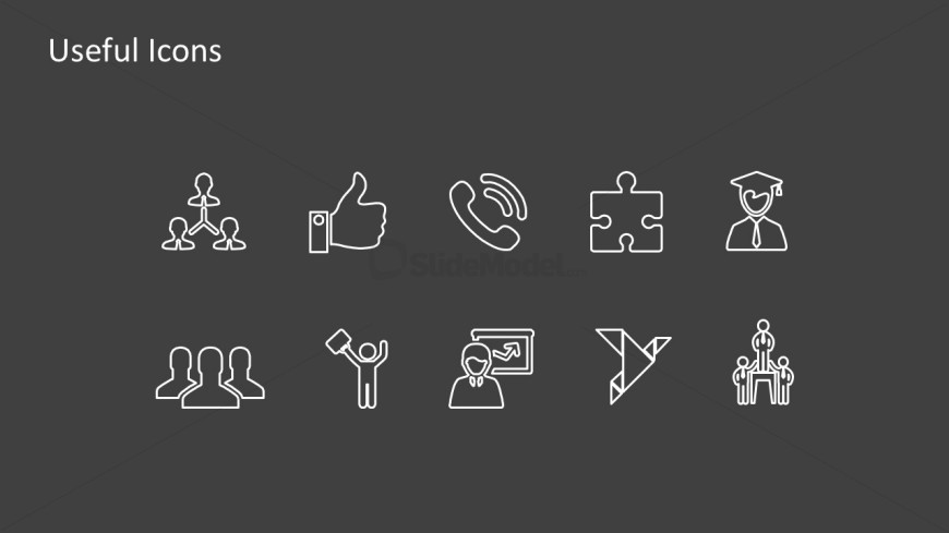 Employee Profile Useful Icons For Human Resources