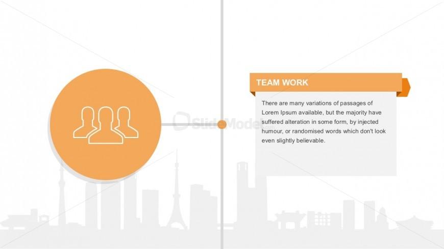 Usable Teamwork Vectors For Slide Presentations