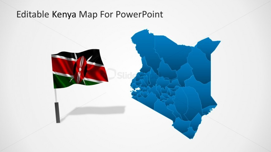 Kenya world highlight powerpoint map slidemodel kenya world highlight powerpoint map gumiabroncs Images