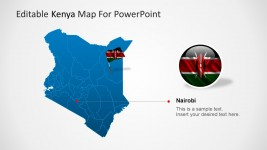 Nairobi and Kenya PowerPoint Maps