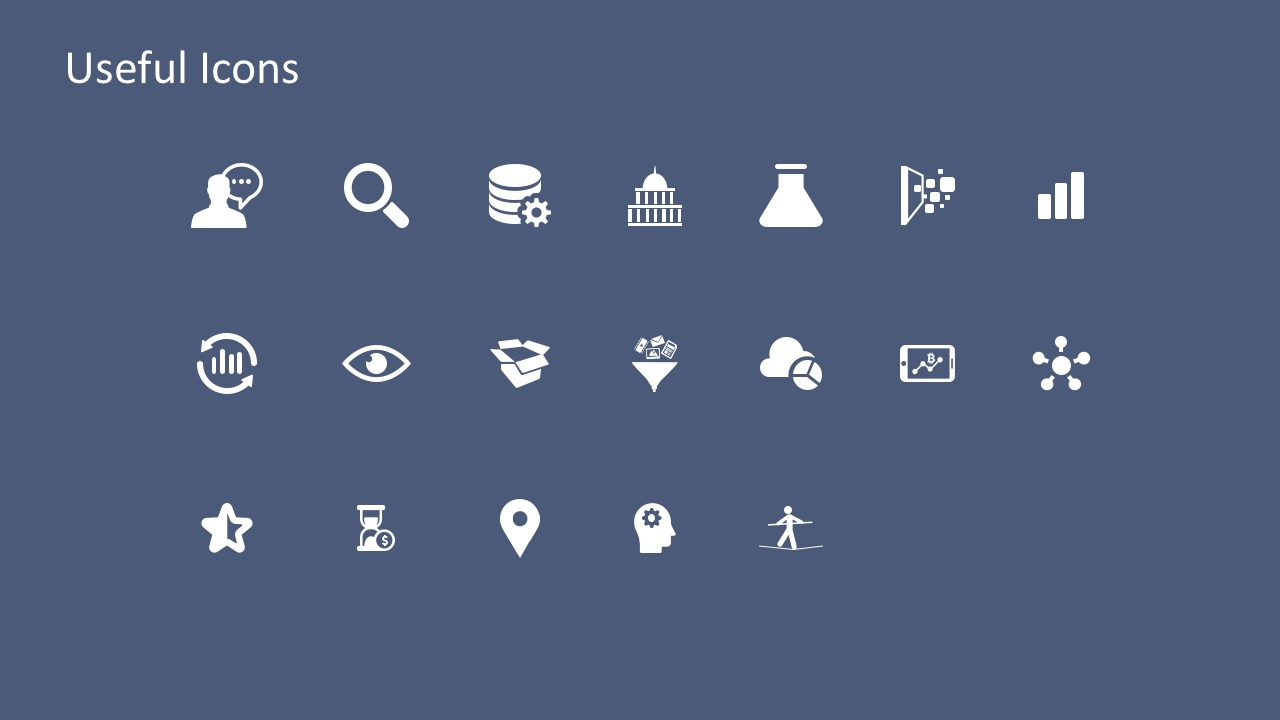 Useful Business PowerPoint Icons For Presentation
