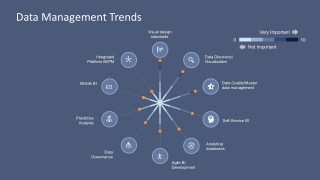 Data Management Visual Design For PowerPoint