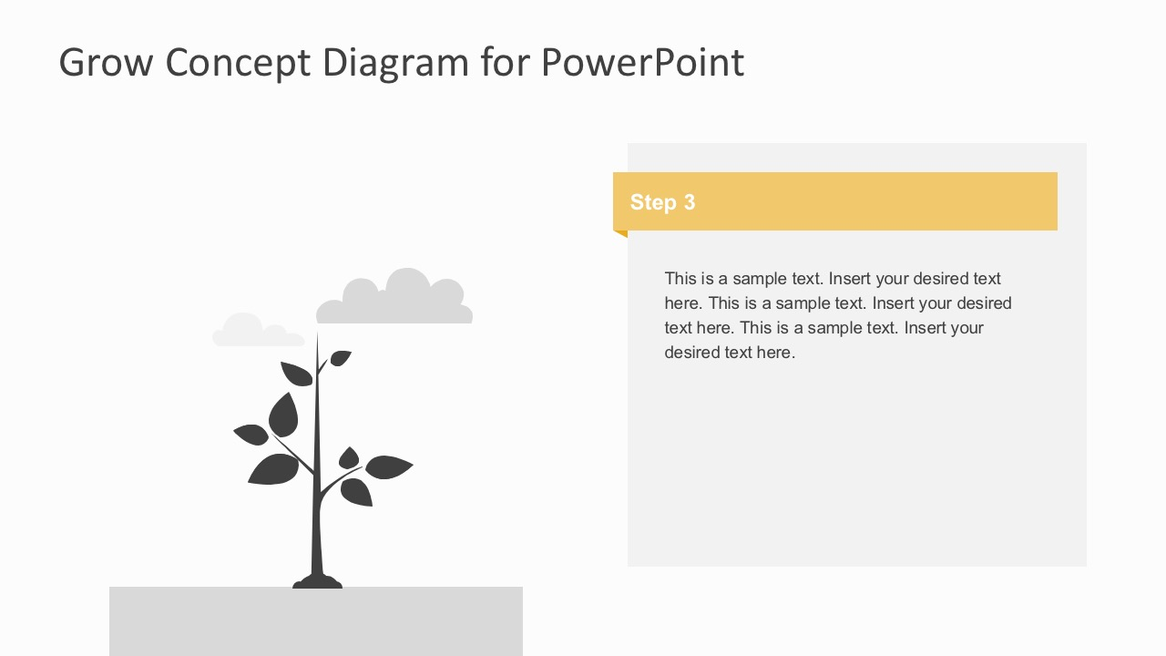 Growth concept diagram powerpoint template business diagram business growth retargeting powerpoint template editable tree concept maxwellsz