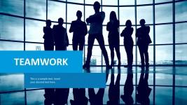Collaboration PowerPoint Slides Templates