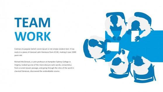 Business Teamwork PowerPoint Slides