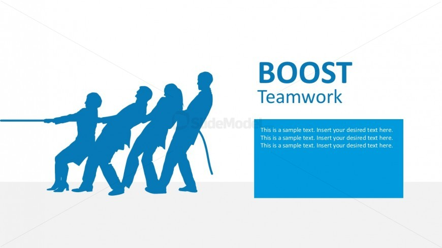 Tug of War PowerPoint Infographics For Teams