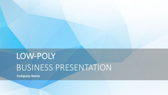 low poly powerpoint templates, Presentation templates