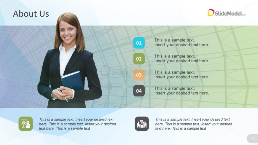 Company Background Editable Template Presentation